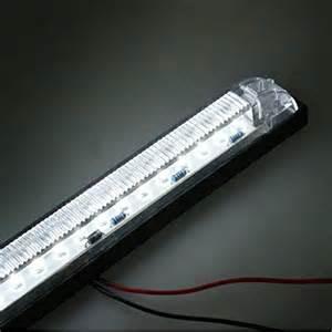 partsam 12v 8 led marker white light slim line led