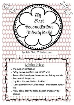 reconciliation activity pack   yosts  grade nest