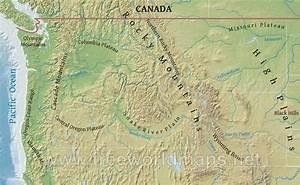 cascade range map, cascade mountain range in oregon, oe ...