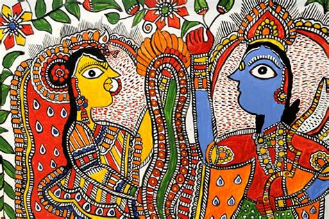 history of madhubani paintings will leave you amazed the ethnic soul