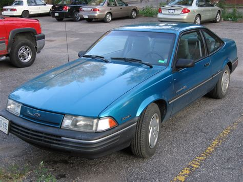 1992 Chevrolet Cavalier Rs Coupe 1st Pic Of It Ever Taken