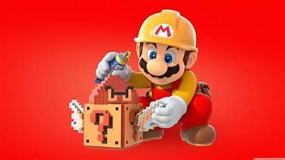 Mario Maker Super Wallpapers 4k Cave