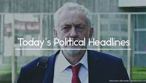 Political Headlines - Corbyn, cancer detection, ivory ...