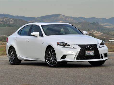 sporty lexus sedan review 2015 lexus is 350 f sport ny daily news