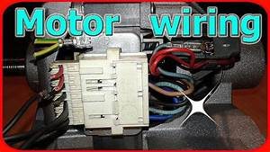 4 Wire Washing Machine Motor Wiring Diagram