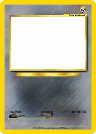 Best Blank Pokemon Card Ideas And Images On Bing Find What You