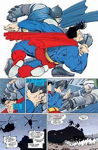 Batman vs. Superman (The Dark Knight Returns, 1986)