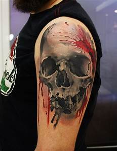51 Skull Tattoos For Men and Women - InspirationSeek.com
