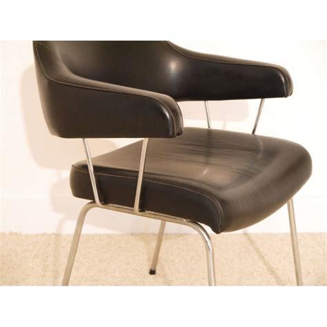 fauteuil bureau vintage simili cuir la maison retro