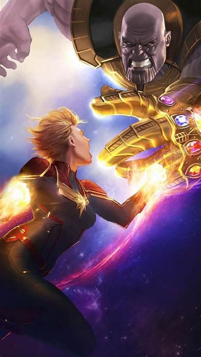Thanos Endgame Avengers Marvel Captain Fight Iphone