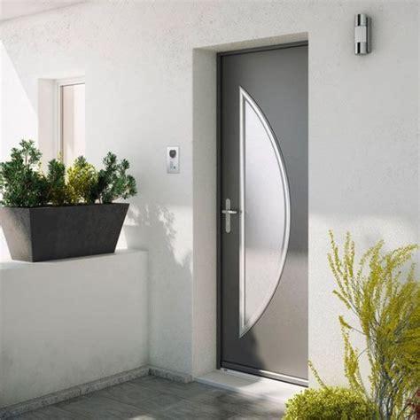 porte cuisine lapeyre porte d 39 entrée maïa en acier par lapeyre