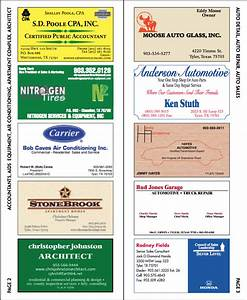 Business card directory fox print services for Business card directory