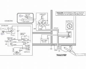 Motorhome Electric Step