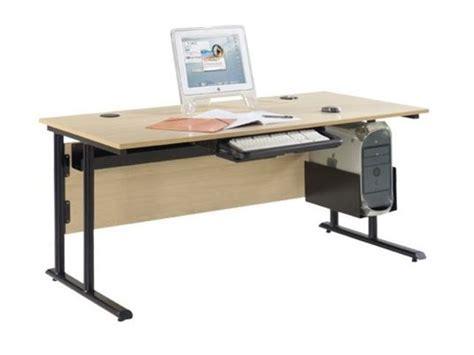 bureau professeur bureau informatique de professeur 160x80 cm direct