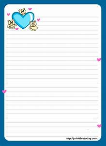 8 best images of cute owls love letter stationery With cute letter writing paper