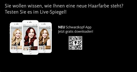 frisuren testen mit schwarzkopf app dm  shop
