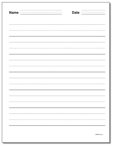 name writing template handwriting paper with name