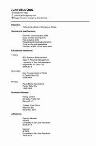 sample chronological resume With how to make a chronological resume