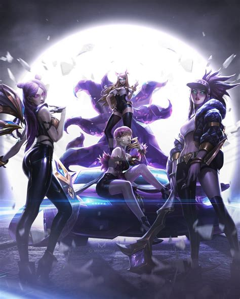 league  legends kda pop stars  imizuri  deviantart