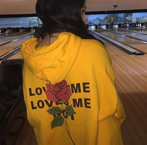 Jacket hoodie yellow rose sweater love me not roses mustard mustard sweater tumblr ...