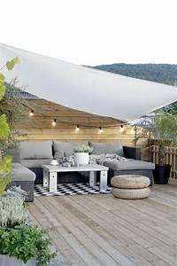 Terrasse dekorieren mit einer lichterkette balkon for Terrasse dekorieren