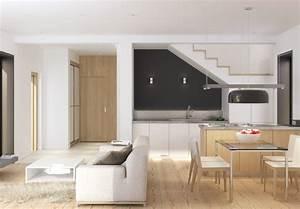 Wohnzimmer Mit Essbereich : kleines wohnzimmer mit essbereich einrichten kleines wohn esszimmer interior e ebenfalls braun ~ Watch28wear.com Haus und Dekorationen