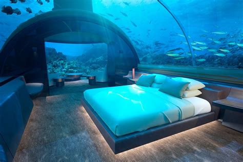 underwater hotel villa in maldives yours for 50 000 a curbed