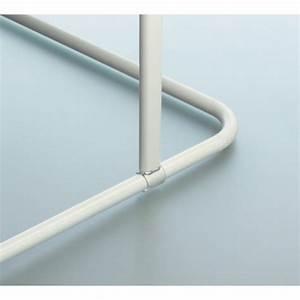 Barre Rideau Fixation Plafond : spirella support plafond pour barre rideau de douche 60 cm ~ Premium-room.com Idées de Décoration