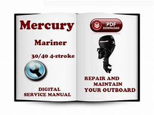 Mercury Mariner Outboard 30 40 Hp 4