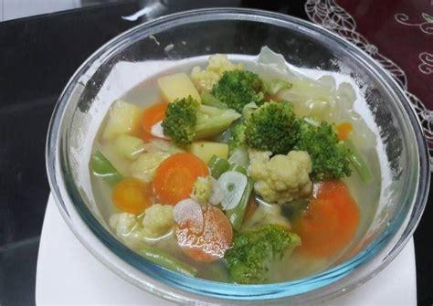 Lihat juga resep sayur bening bayam timun enak lainnya. Resep Sayur sop bening oleh Anisayas25 - Cookpad
