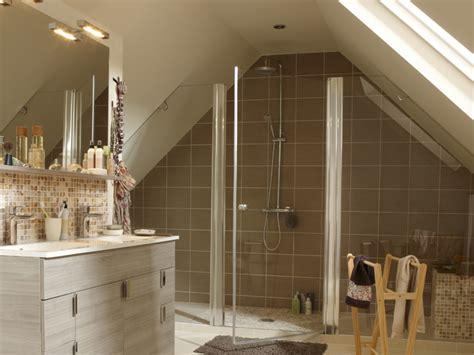 salle de bains sous les combles  espace de bien etre