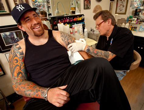 tattoos  green bay packers daryn colledge