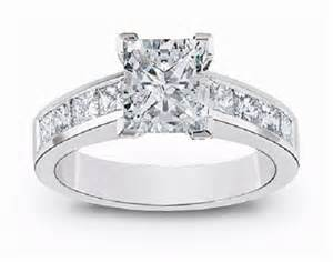 princess cut engagement rings 2 carat 2 carat engagement rings princess cut wedding inspiration