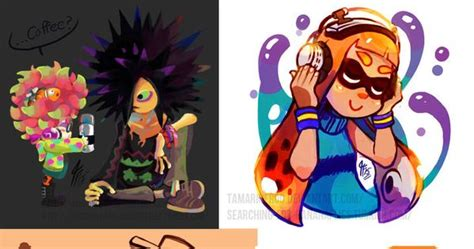 Splatoon Art Dump01 By Tamarinfrog On Deviantart