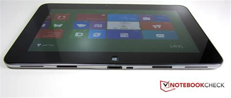 table l with usb port review dell xps 10 tablet notebookcheck net reviews