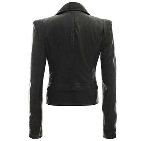 motorcycle style leather jacket motorcycle style slim fit leather jacket for women