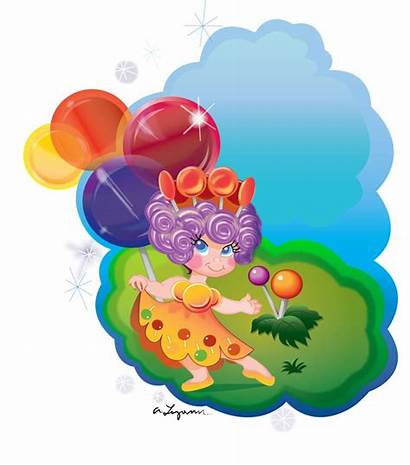 Candyland Characters Candy Land Princess Board Clipart
