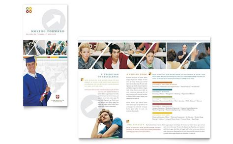 College Brochure Design Ideas College Brochure Template Design