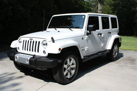 jeep wrangler unlimited sahara  sale  wilmington north carolina