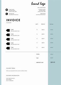 Rechnung Design : 25 best ideas about invoice template on pinterest invoice design invoice layout and ~ Themetempest.com Abrechnung