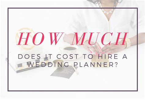 What Does A Cost by Cost Of A Wedding Planner Wedding Decor Ideas