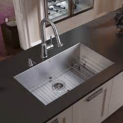 faucet for kitchen sink vigo undermount stainless steel kitchen sink faucet grid strainer and dispens modern