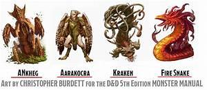 Monster Manual Art Of Christopher Burdett