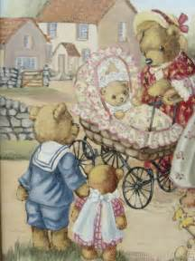 antiques atlas childrens oil painting teddy bears day