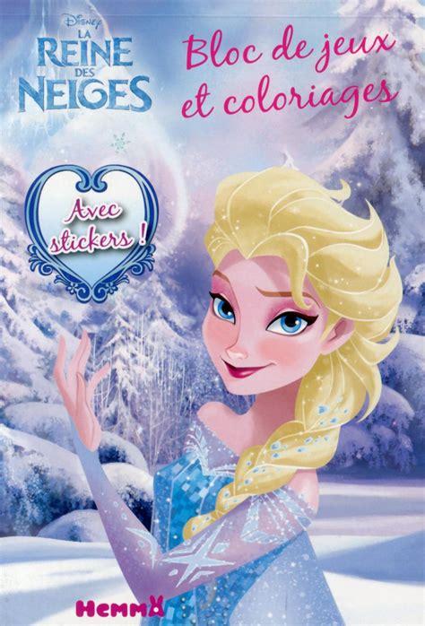 jeux de cuisine de la reine des neiges livre disney la reine des neiges bloc de jeux et