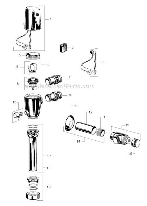 American Standard Proximity Toilet Dual Flush Valve 1.6