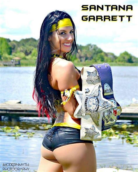 santana garrett santana garrett female wrestlers wwe tna
