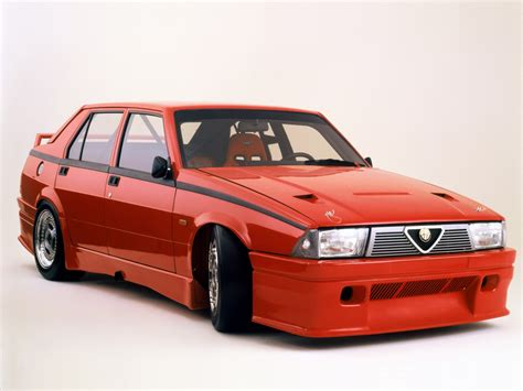 Alfa Romeo 75 18 Turbo Tcc Prototipo Wallpapers Cool