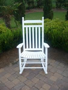 Dixie Seating Company Rocking Chair, White