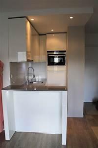 micro cuisine design 2m2 paris With toute petite cuisine 2m2